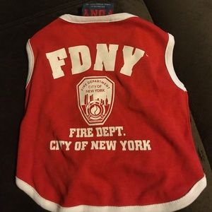 Medium FDNY dog shirt